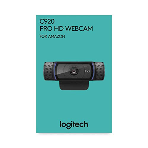 Logitech C920 HD Pro Webcam, Videoconferencias 1080P FULL HD