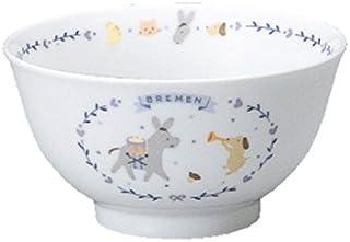 NARUMI(ナルミ) ブレーメン[日本製こども用食器] 飯茶碗 強化耐熱磁器 7980-3321