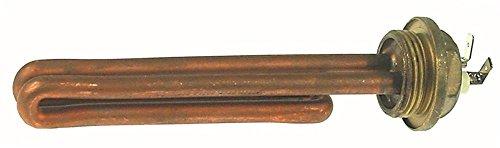 Nuova Simonelli Heizkörper für Kaffeemaschine Oscar 1200W 230V Länge 155mm Breite 22mm Höhe 22mm Anschluss Flachstecker 6,3mm
