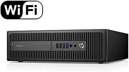 HP EliteDesk 800 G2 Small Form Factor SFF Desktop PC Intel Core i5 6500 Processor 3.20Ghz Quad Core 8Gb Ram 240Gb Sol...