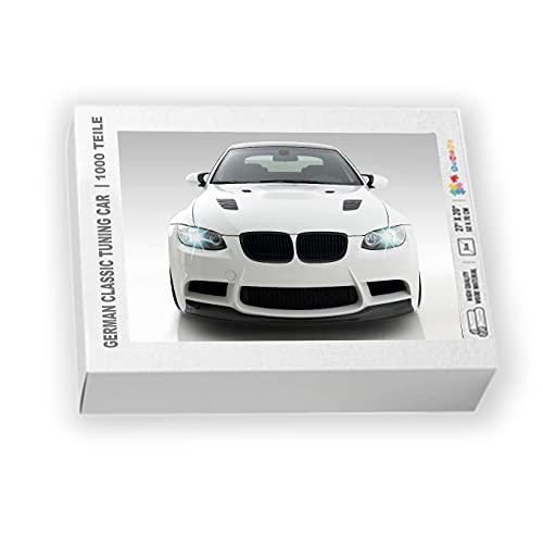 Puzzle de 1000 piezas de madera auténtica de 2 mm para coche, 70 x 50 cm, juguete educativo, tuning, idea de regalo, 27 x 20 pulgadas, compatible con BMW E92 E93 M3 335i