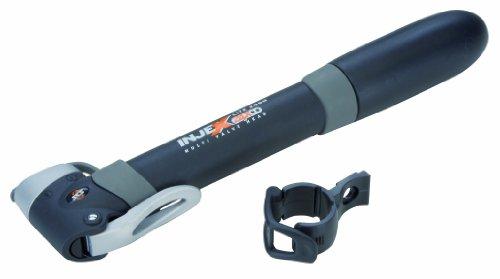 SKS Mini-Luftpumpe Injex Lite Zoom Länge 252 mm für alle Ventilarten, schwarz- grau, 6501