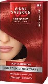 Vidal Sassoon London Luxe Pro Series Hair Color ~ # 5RR Merlot Vibrant Red (Quantity 1)