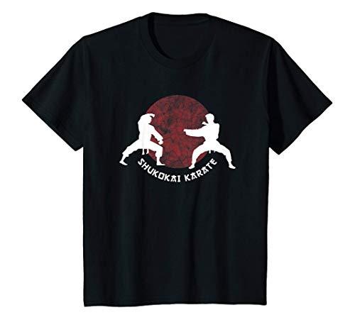 Kinder Shukokai Kinder Karate Kampfkunst T-Shirt
