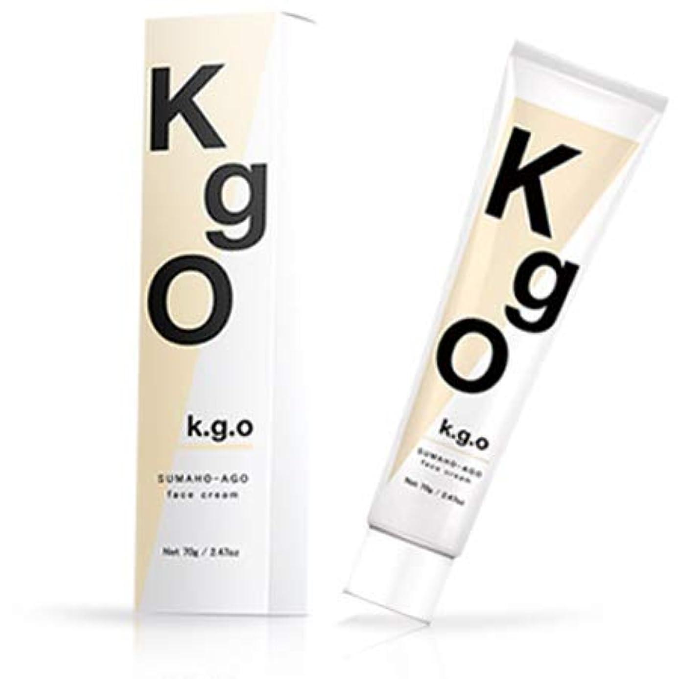 キャラクター吹きさらし統治可能K.g.O SUMAHO-AGO face cream ケージーオー スマホあご フェイスクリーム 70g (単品)