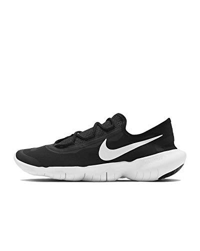 Nike Wmns Free RN 5.0 2020, Scarpe da Corsa Donna, Black/White-Anthracite, 41 EU