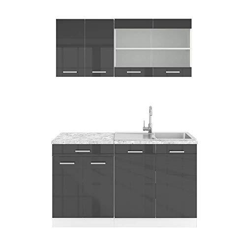 Vicco Küchenzeile Single Bild