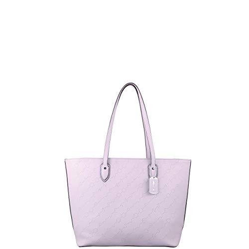 Joop! Damen Jeans grafico lara Shopper lhz Farbe rose rosa Logo Prägung Handtasche