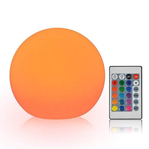 Lámpara de Noche, Suave y estática, Resistente al Agua, Ajusta el Brillo, luz de Bola LED, Mejora la atmósfera, Resistente al Polvo para Fiestas en casa