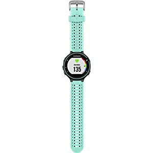 Garmin 010-03717-6A Forerunner 235 with Wrist Based Heart Rate Monitoring, Frost Blue