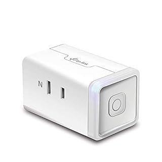 【Amazon Alexa認定取得製品】 TP-Link WiFi スマートプラグ 遠隔操作 直差しコンセント Echo シリーズ/Google ホーム/LINE Clova 対応 音声コントロール サーキュレーター ハブ不要 3年保証 HS105