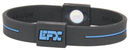 Unbekannt EFX Armband Silikon Sport, Größe: EFX Armband, schwarz/blau, Gr. L