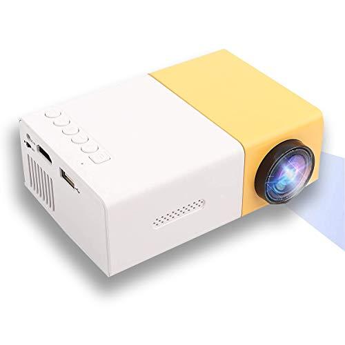 Video Mini HD Proiettore, LED Home Theater 4K TV Supporto per proiettore cinematografico Laptop Phone 1080P   HDMI VGA USB TV Box Laptop Dvd per intrattenimento all aperto al Coperto(EU)