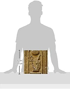 3dRose ct_75469_4 Maat, Nebmaatre or Amenhotep III, Luxor Temple, Egypt-CN02 Pri0009-Prisma-Ceramic Tile, 12-Inch