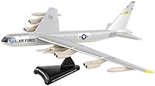 Daron Worldwide Trading Postage Stamp USAF B-52 Stratofortress 1/300 Silve Airplane Model