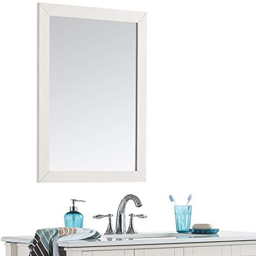 Simpli Home Chelsea 22 inch x 30 inch Bath Vanity Décor Mirror -