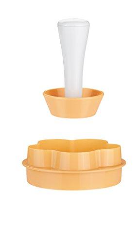 Tescoma 630087 Delícia Forma Tartelette, Plastica, Giallo