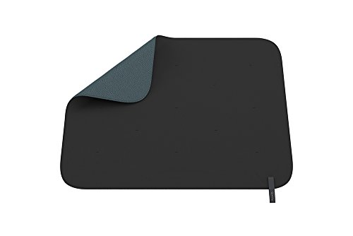 Quinny Decke für Kinderwagen und Babyschalen, einfache Befestigung am Rahmen des Kinderwagens, Wendedecke für einen neuen Look, graphite