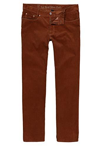JP 1880 Homme Grandes Tailles Pantalon Velours côtelé Rouille 58 723478 64-58