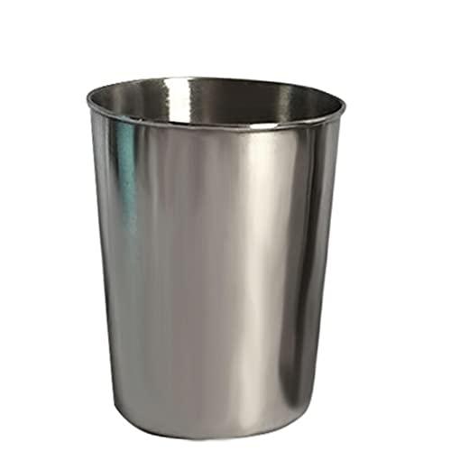 LFONCE Taza de acero inoxidable, taza de acero inoxidable, resistencia a la caída de vidrio, botella de agua para niños, taza de vino blanco, 30 ml, 50 ml, 180 ml, 320 ml, para niños y adultos (50 ml)