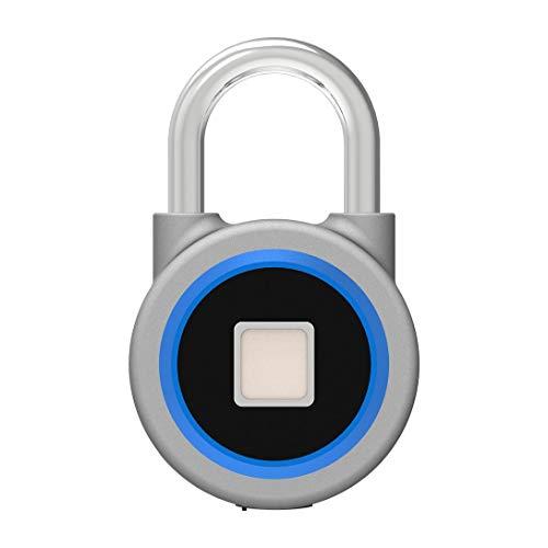 Swiftgood Anti-Theft Padlock Waterproof Keyless Bt Smart Fingerprint Lock Padlock P2 Anti-Theft For Android 4.3 App Control Door Cabinet Padlock