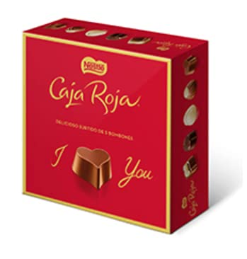 Chocolate Nestle Caja Roja - 12 Und