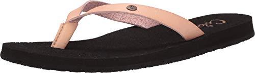 Cobian Women's La Playita Blush Flip Flops, 7