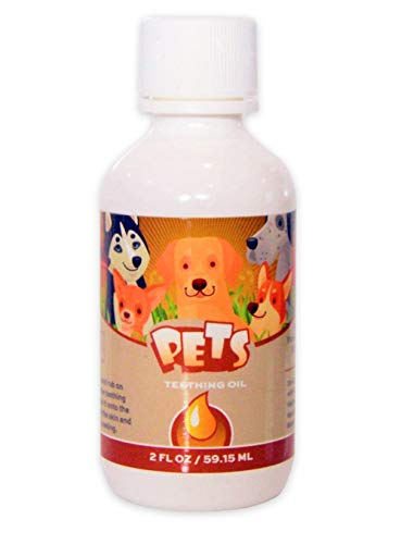 Punkin Butt for Pets Puppy Teething Oil to Stop...