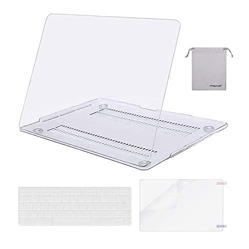 MOSISO Funda Dura Compatible con MacBook Pro 13 Pulgadas 2020-2016 A2338 M1...