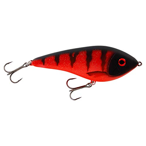 Westin Swim Glidebait - Caña de pescar (10 cm, 31 g, flotante), color rojo