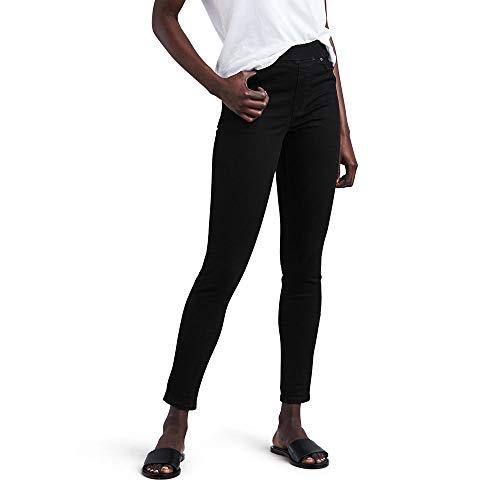 Levi's Women's Pull-On Jeans, dark black, 27 (US 4)