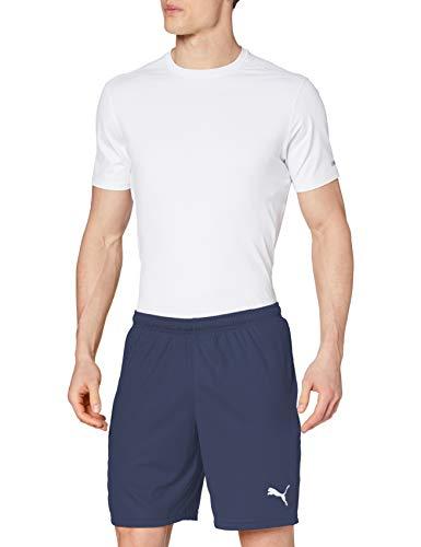 Puma Herren Liga Shorts Core, Peacoat White, XL