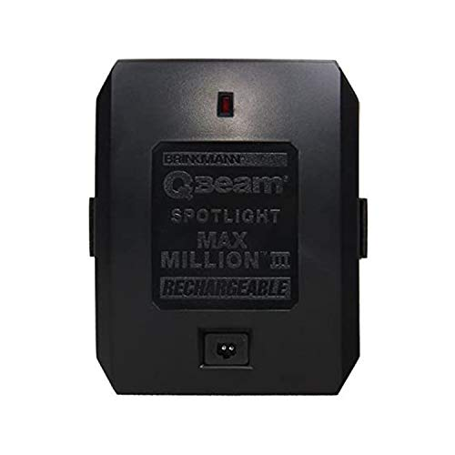 Brinkmann QBeam Replacement Battery for 800-2380-W Max Million III Rechargeable Spotlight, Rechargeable battery, MaxMillion III Battery