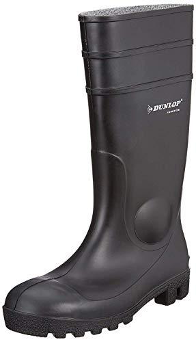 Dunlop Acifort Dunlop Protomaster Full Safety Gummistiefel,Arbeitsstiefel,Regenstiefel,Gartenstiefel (36, schwarz)