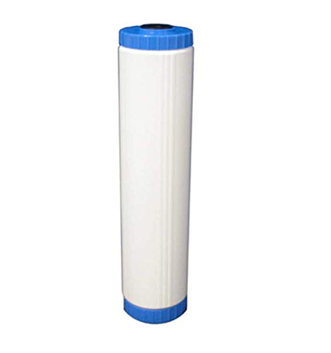PureWater Site 4.5' x 20' Big Blue Refillable Birm Filter - for Iron and Manganese Reduction