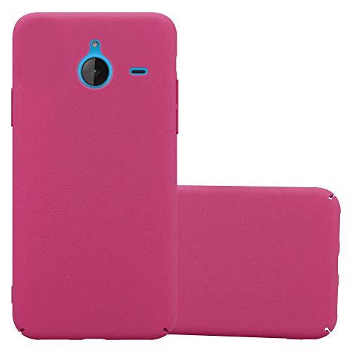 Cadorabo Funda para Nokia Lumia 640 XL en Frosty Rosa - Cubierta...