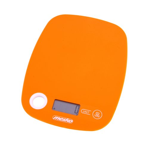 Mesko ms3159o bilancia da cucina Digitale, Arancione