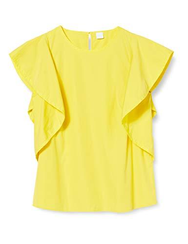 BOSS Ciguida Camicia, Giallo (Bright Yellow 730), 46 (Taglia Unica: 40) Donna