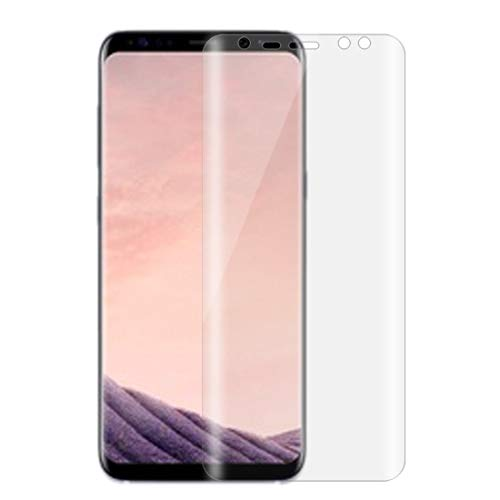 GGAOXINGGAO Mobiltelefon-Bildschirmschutzfolger for Galaxy S8 / G950 0,1 mm HD 3D Curved PET Full Screen Protector
