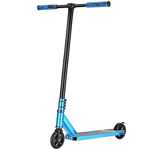 Pro Scooters - Patinete truco - Avanzado e intermedio y principiante Freestyle Stunt Scooters para altura de 4.3 - 5.9 pies - Duradero, ligero, para adultos Me -Mujeres y Niñas,C