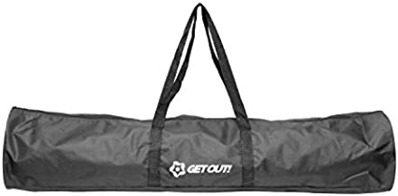 Get Out! 40in Carrying Bag for Corner Flags – Soccer Flags Soccer Poles Duffel Bag, Soccer Equipment for Training