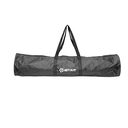 Get Out! 40in Tragetasche für Eckfahnen - Fußballfahnen Fußball-Poles Duffel Bag Fußball-Ausrüstung für Training