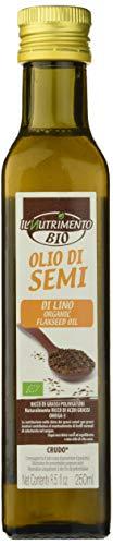 Probios Olio di Semi di Lino Bio - Confezione da 6 x 250 ml