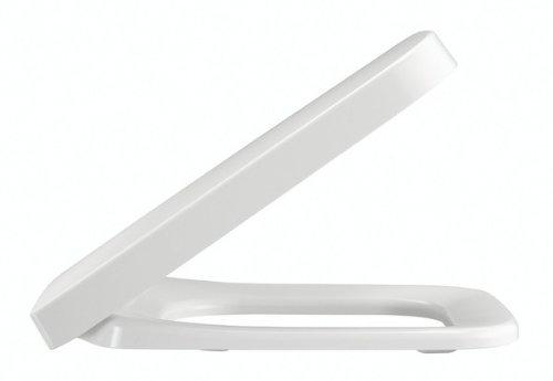 Pressalit 824000-DB6999 WC-bril Plan m.deksel wit