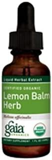 Lemon Balm Extract Gaia Herbs 1 oz Liquid