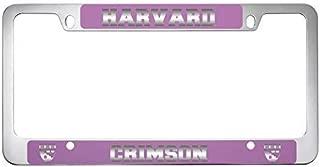 LXG, Inc. Harvard University -Metal License Plate Frame-Pink