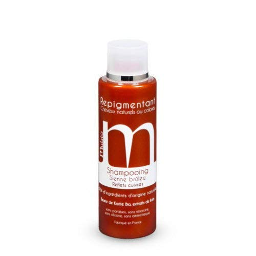 mulato - shampooing sienne brulee cuivre - contenance : 200 ml