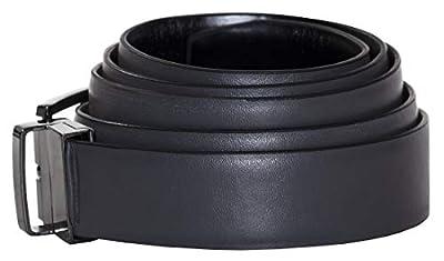 Tuxgear Boys Reversible Black and Grey Adjustable Length Dress Belt
