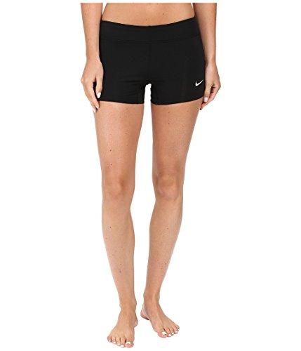 Nike Women's Performance Training Shorts Black/White Size Large