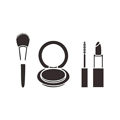 Behang Muurstickers stickers op maat Beauty Beauty muren, cosmetica, schoonheid en haar Art Stickers Shop raamdecoratie